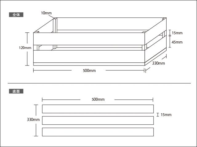 木箱設計図