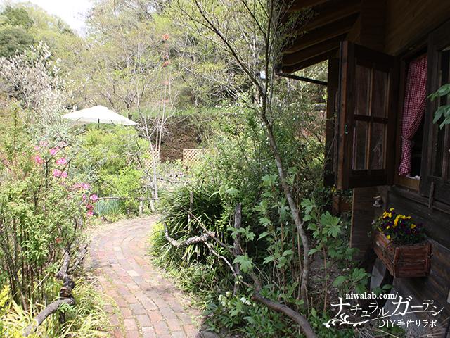 ターシャの庭入り口