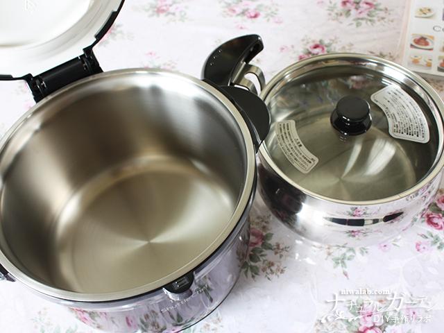 鍋と保温容器