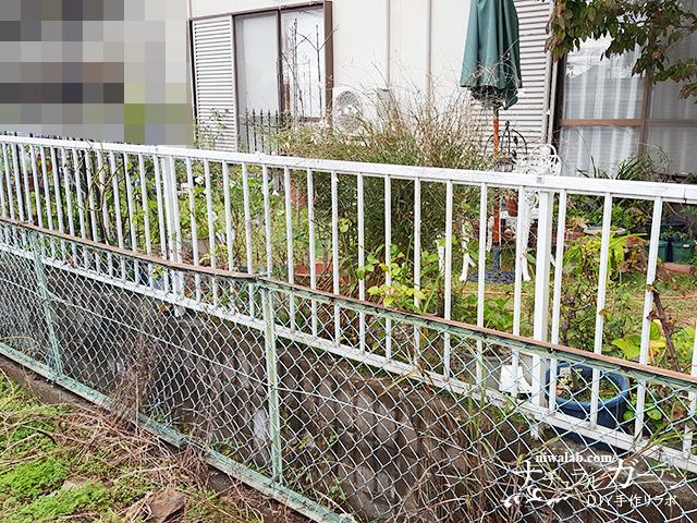 元のフェンス