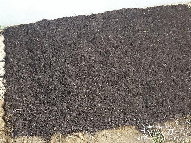 掘って土を被せる