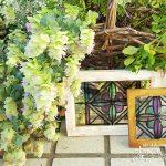 アンティークな小さなステンドグラス風窓雑貨の作り方