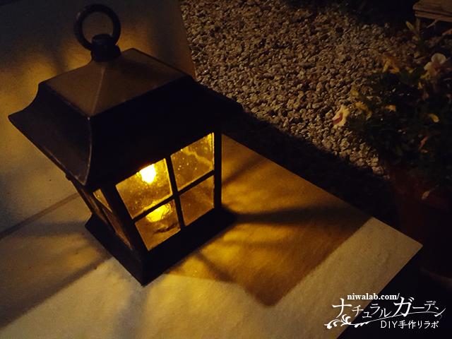 夜のガーデン
