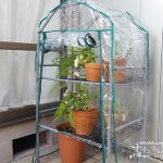 塩ビパイプで格安DIY!鉢植えの冬越しに向けて温室を自作