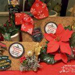 100円ショップの材料で作る、ナチュラルなクリスマス雑貨