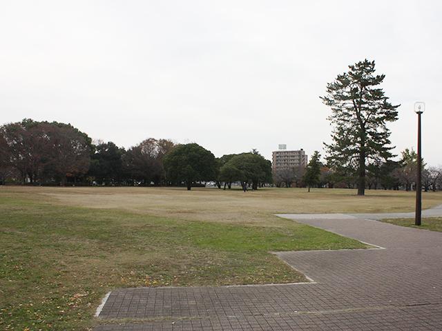 秋の各務原市民公園