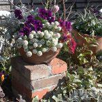 1つ置くだけでヨーロッパ風に!積むだけ簡単レンガの花台の作り方