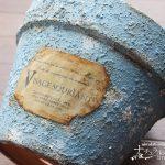 【エイジング加工】 石灰を使ってザラザラ質感の古びた塗装をする方法
