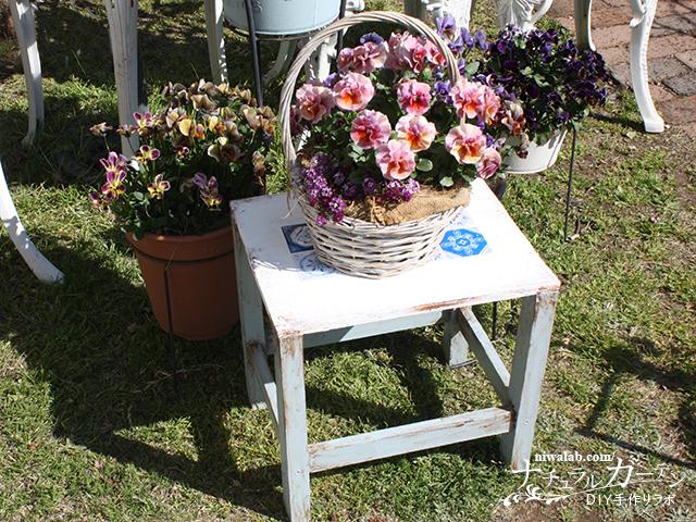 木製花台DIY