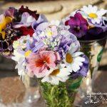 春爛漫!春の花とパンジー・ビオラを使ったミニブーケで部屋に彩りを!