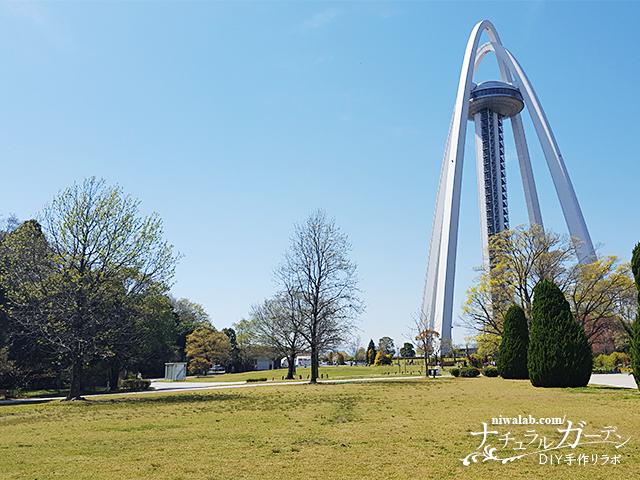 春の138タワーパーク
