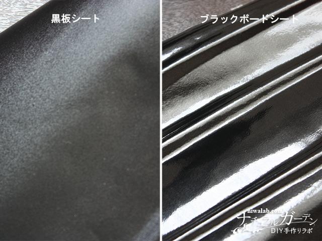 黒板シートとブラックボードシート