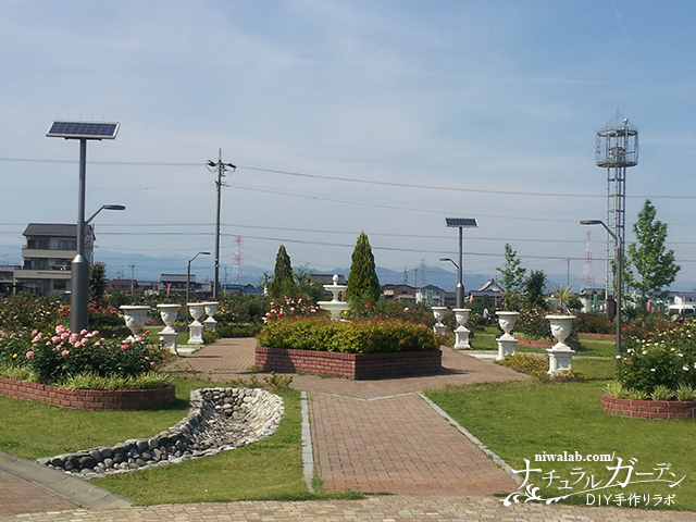 バラ公園位置