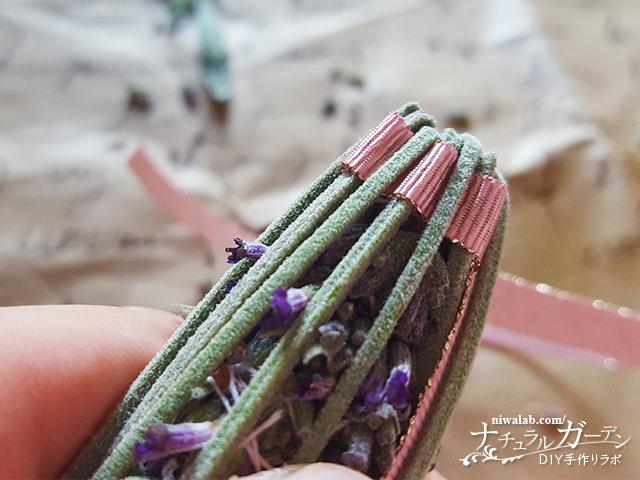 リボンを編む