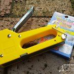 【木工用ホッチキス】DIYに便利なダイソーでも買えるタッカーの使い方