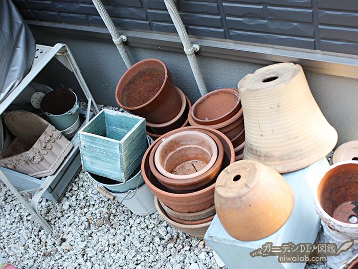 増える植木鉢