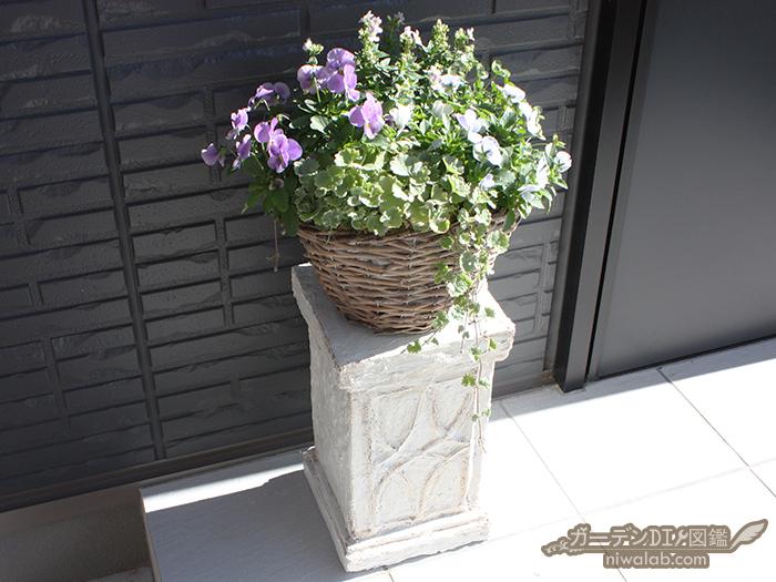 モルタル花台DIY