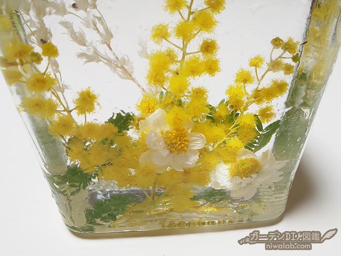 小さい花材配置