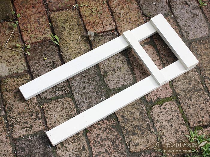 木材組み立て