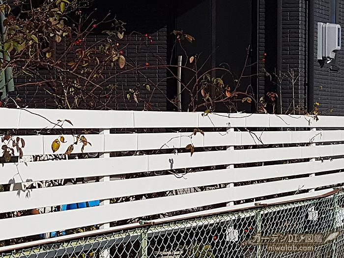 フェンス全体