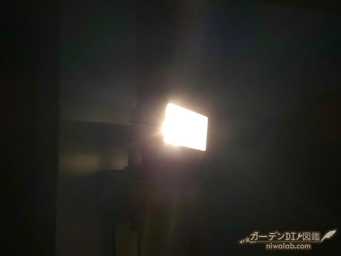 防犯センサーライト
