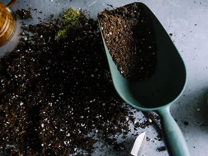 土を作る理由