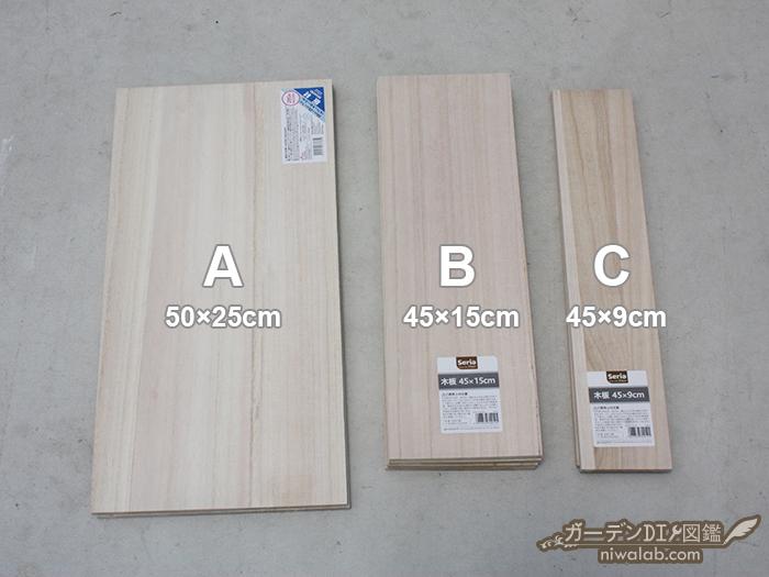 木材サイズ